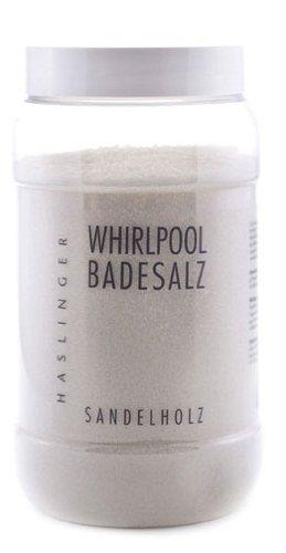 Lashuma Whirlpool Badesalz Sandelholz, Sprudelbad Zusatz 1000 g