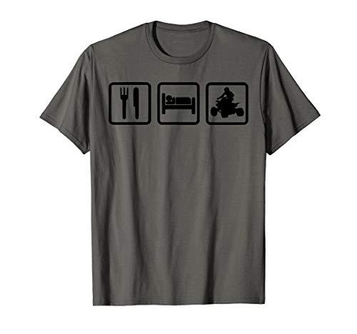 Eat Sleep ATV Best Quad Bike T Shirt for Four Wheelers