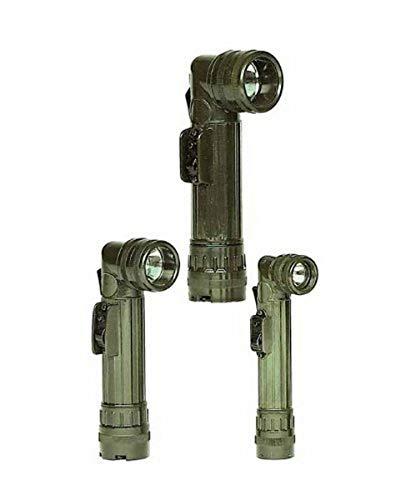 Mil-Tec US LED Winkeltaschenlampe medium Oliv
