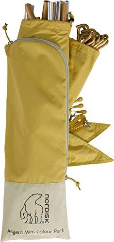 Nordisk Asgard Mini Colour Pack Gelb, Zelt-Zubehör, Größe One Size - Farbe Mustard