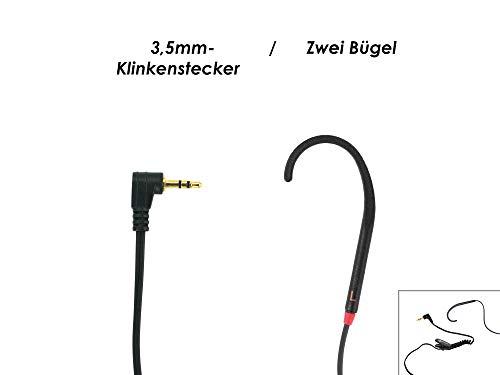 Geemarc CLHOOK8 BLK - Auriculares con cables compatibles con dispositivos para el oído