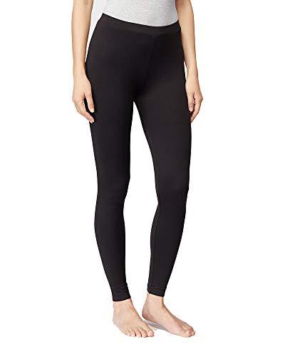 32 DEGREES Womens Cozy Heat Baselayer Comfy Lounge Pajama Legging, Black, Medium