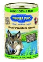 Winner Plus Mangime Umido Cane100% agnello e riso 400GR