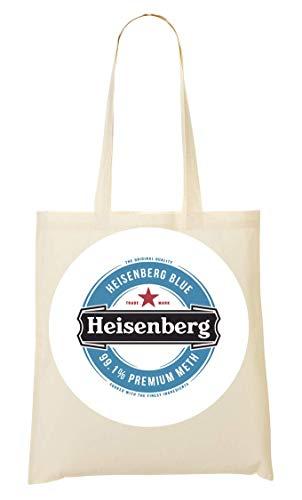 Wicked Design Heisenberg Beer Funny Logo Tragetasche Einkaufstasche
