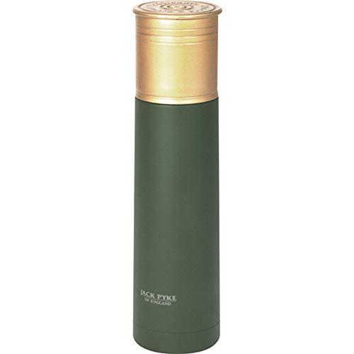 Jack Pyke - Edelstahl-Thermosflasche in Patronenform - Grün - 750 ml