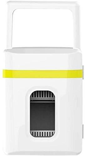 SONG Mini refrigerador portátil Lindo, para automóvil Mini refrigerador Mini para la habitación Al Aire Libre Kuppet Mini Nevera (Color : Yellow Bar)