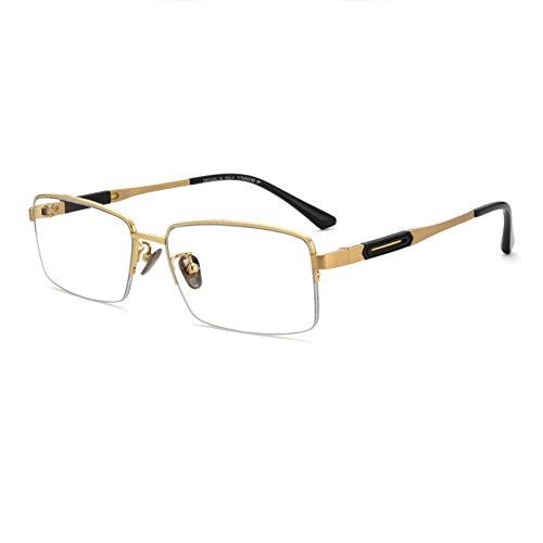 EYEphd Gafas de Lectura multifocales progresivas de Titanio