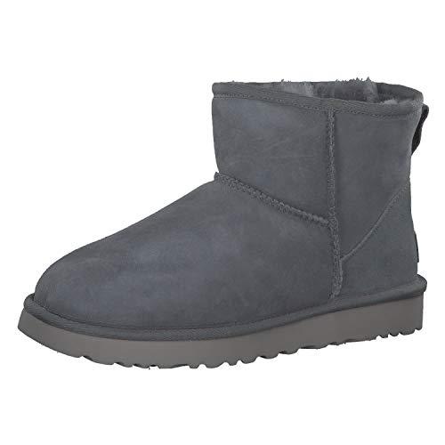 UGG Damen Mini Classic Hohe Sneakers, Grau, 37 EU