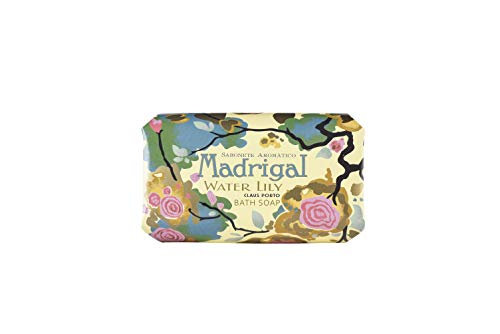 Claus Porto Madrigal Water Lily Soap for Unisex, 12.4 oz