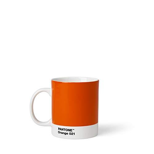 Pantone Kaffeetasse, Porzellan, Orange 021, 8.4 x 8.4 x 12.1 cm