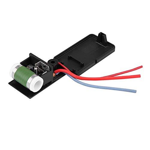 Resistencia del ventilador - Resistencia del motor del ventilador para Mini Cooper R50 R52 R53 03-08,17117541092R Radiador de refrigeración del motor del coche