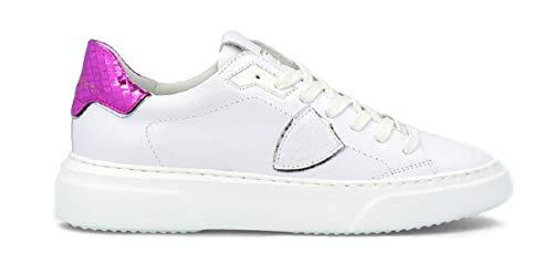 Philippe Model Sneaker Temple Phyton Bianco Fucsia Donna SS 2020
