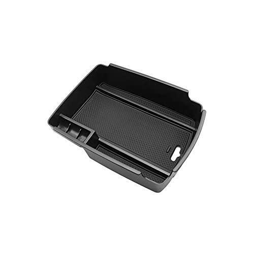 LZYY Apoyabrazos para Coche para Sportage QL 4th 2018 2019 2020 Caja de Almacenamiento Accesorios Interiores de automóvil Caja de reposabrazos de Coche Negro Caja de reposabrazos de Coche