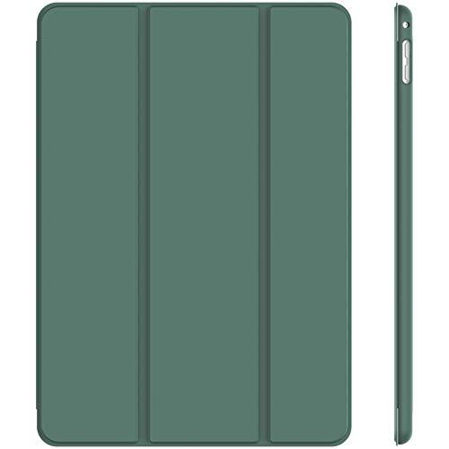 JETech Funda para iPad Mini 4, Carcasa con Soporte Función, Auto-Sueño/Estela, Azul Brumoso