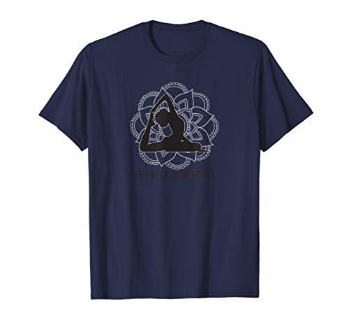Eat Sleep Yoga Repeat Yoga-Outfit Kleidung Damen Herren T-Shirt