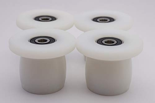 Total Gym Wheels/Rollers Qty. 4 for Models XL, XLS, Fit