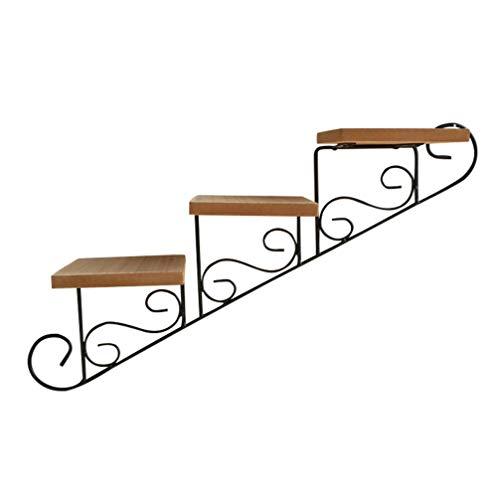VOSAREA - 3 niveles de escalera para plantas, soporte para m