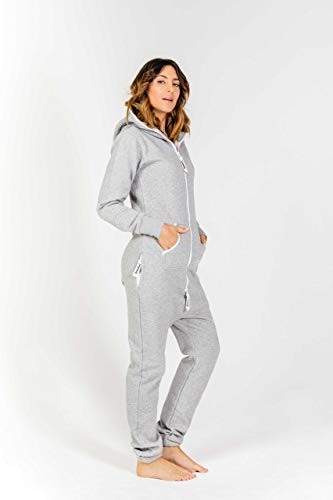 Moniz Damen Jumpsuit, grau - 3