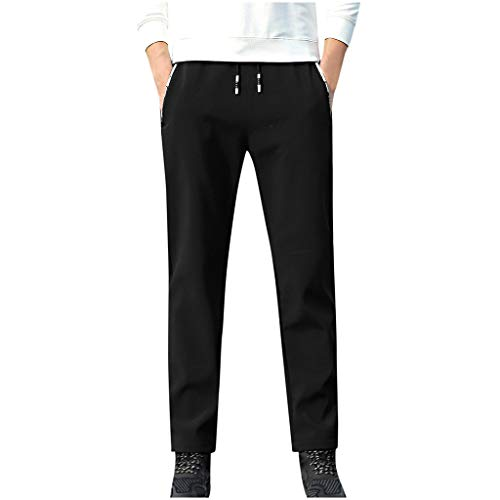 Herren Herbst Winter Solide Thermohose Kordelzug Lange Hosen,KaloryWee Männer Hosen 2020 Neueste Pants Casual Pure Color Junge Outwear