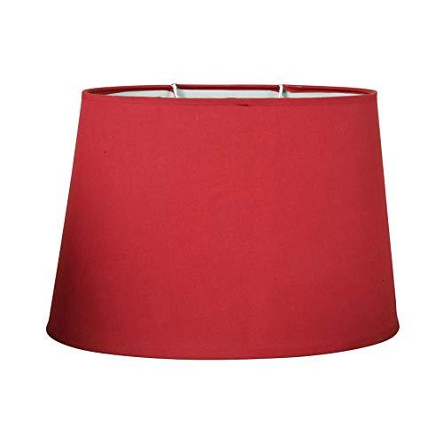 Ostaria Paralume ovale colore rosso
