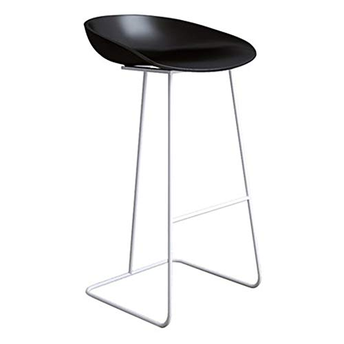 CCLC barstoelen, barkruk, smeedijzer, modern, minimalistisch licht, creatief, rode bar, goud, kruk, witte leggings zwart, oppervlak: 75 cm