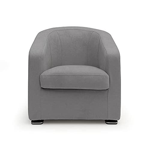 JIM Armchair in soft waterproof fabric