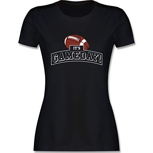 Sonstige Sportarten - It's Gameday Vintage Football - S - Schwarz - Any Given Sunday - L191 - Tailliertes Tshirt für Damen und Frauen T-Shirt