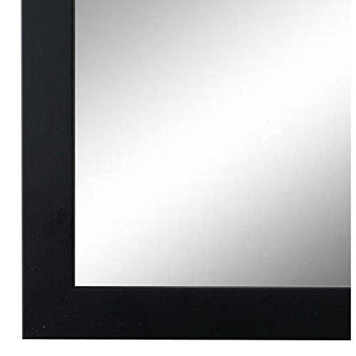 Online Galerie Bingold Spiegel Wandspiegel Schwarz 40 x 80 cm - Modern, Vintage - Alle Größen - Massiv - Holz - AM - Neapel 2,0