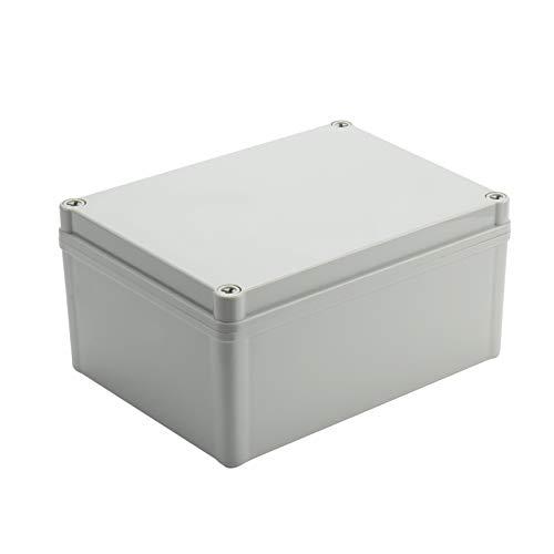 Inkbird Caja de Conexiones Impermeable, IP67 Caja de Empalmes Exterior, Gris (200x150x100mm)