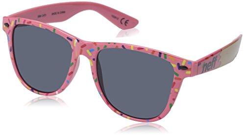 Neff QNF0302 Gafas de sol, Strawberry Donut, 55 Unisex