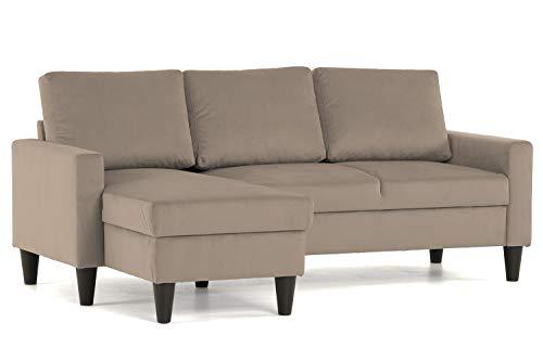 Sofás de Salón Cheslong Marca Confort24