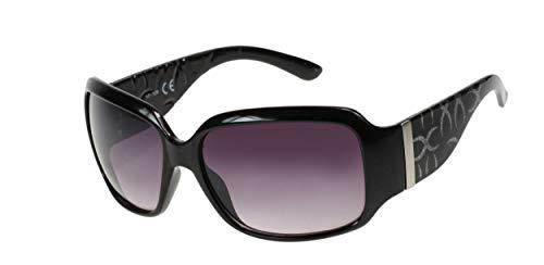 Kost Gafas de sol para mujer negro/plateado/gris