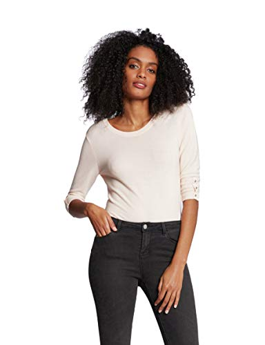 Morgan Pull Boutons Manches Mlog Suéter para Mujer