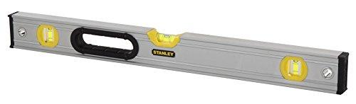 Stanley FatMax Pro Waterpas (magnetisch, 120 cm lengte, een verticale libel, een horizontale libel Bi-materiaal) 90 cm