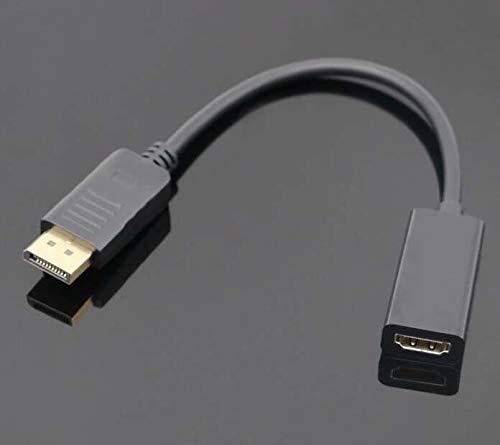 Leyeet Mini-Display-Port Dp zu HDMI-Kabeladapter Konverter für MacBook Powerbook Andere Produkte mit Mini-Displayport für Videoausgabe