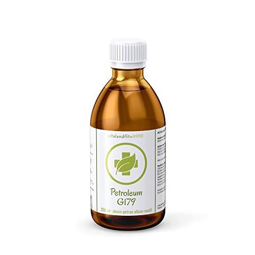 Petroleum G179, gereinigt (Oleum Petrae album rectif.) - 250 ml - viele Anwendungsmöglichkeiten