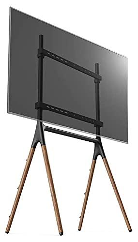 TabloKanvas TELEVISOR Soporte de Soporte de Soporte de Soporte para móvil TELEVISOR Carrito de la Pantalla de la Pantalla de la Publicidad del Bastidor 49-70 Pulgadas Universal (Color : Black)