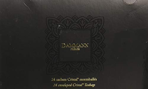 DAMMANN FRERES Breakfast Black Tea, 24 Cristal Teabags