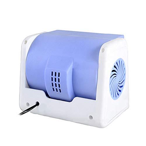 huihuijia Ventilador De Aire Acondicionado Sin Cuchillas para Coche Ventilador EléCtrico Silencioso SúPer Potente Velocidad Ajustable 12V / 24V / 5V 5v
