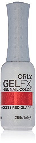 Orly Gel FX Nail Polish - Rockets red Glare, 1er Pack (1 x 9 ml)