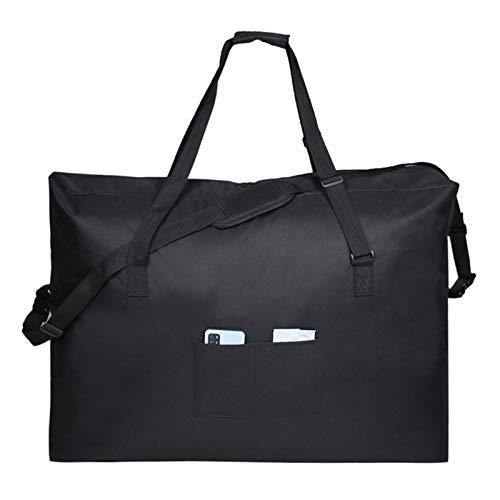 Aosong Bolsa de almacenamiento grande gruesa y resistente Oxford 600D, bolsa organizadora resistente para festivales o como bolsa de almacenamiento debajo de la cama, 89 x 66 x 24 cm