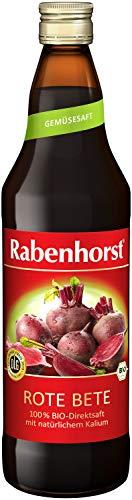 Rabenhorst Bio Rote Bete Saft, 6er Pack (6 x 700 ml)