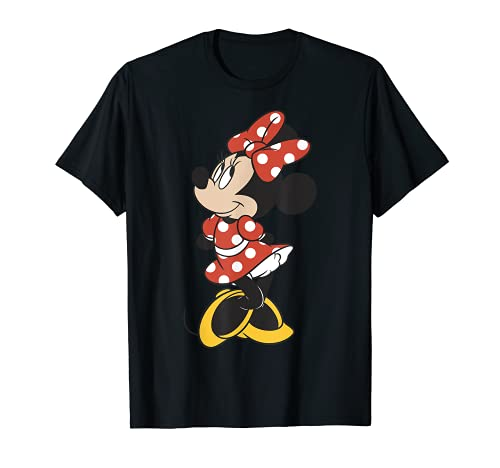 Disney Minnie Mouse Vintage Minnie Pose Graphic T-Shirt