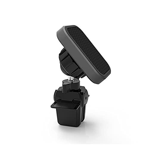 zis Soporte de Coche magnético Montaje de ventilación de Aire 360 Rotación imán Inteligente para teléfono para automóvil para iPhone Samsung Mobile Stand (Color : Gray)