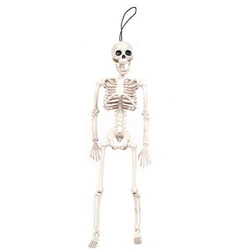 shentaotao Halloween-Skelett Posable Ganzkörper-Halloween-Skelett Realistische Hanging Adulten Menschlichen Skelette Schädel Scientific Knochen Modelle Für Das Beste Halloween Props Party Decor