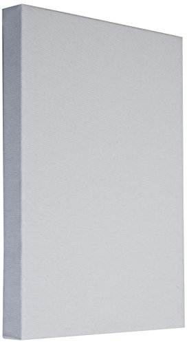 Arte & Arte 7158.0- Marco con Lienzo para Pintores. Hecho de Madera de Abeto algodón. Color Blanco. Dimensiones: 100x 70x 3.5 cm
