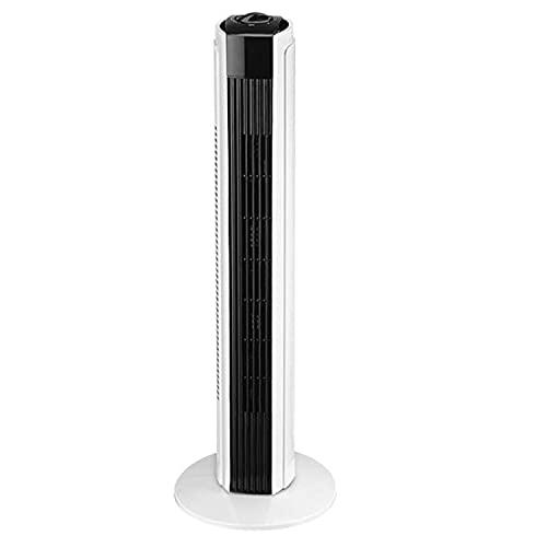 LTC LXWT24 Ventilador de Torre, Ventilador de Columna 50W, Función de Oscilación de Aire, Ajuste del Flujo de Aire, 82cm