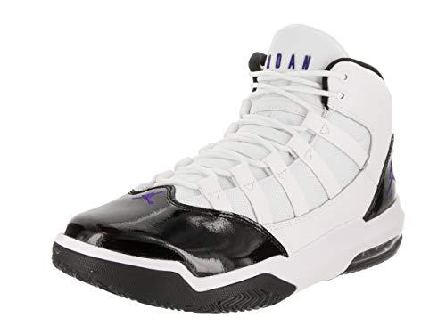 Nike Jordan MAX Aura, Zapatos de Baloncesto para Hombre, Blanco (White/Dark Concord/Black 121), 45.5 EU