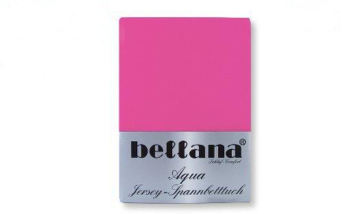 Bellana Aqua Jersey Spannbettlaken, Farbe:fuchsia;Größe:140 x 200 bis 160 x 220 cm