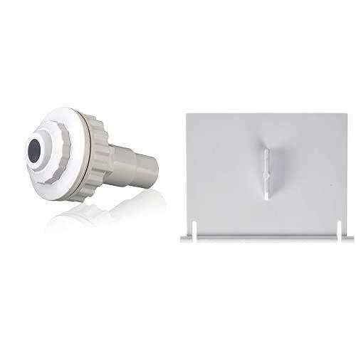 Gre Ar503 - Boquilla De Impulsión para Piscinas Desmontables + Ar501 - Compuerta para Skimmer